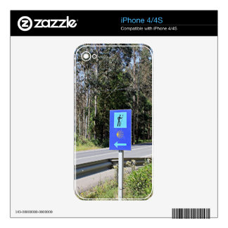 El Camino walker sign, Spain Decal For The iPhone 4S
