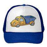 El camión volquete embroma arte gorras de camionero