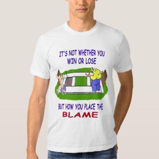El Camiseta-Triunfo americano básico de herradura Playeras