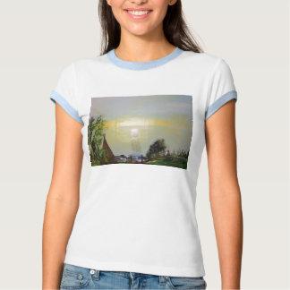 El camisetas de las mujeres del paseo de la isla remera