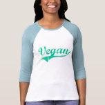 El camisetas de las mujeres del vegano del equipo
