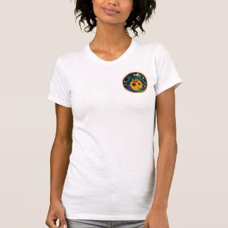 El camisetas de las mujeres extranjeras de la poleras