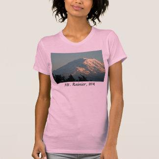 El camisetas de las mujeres: Invierno el Monte