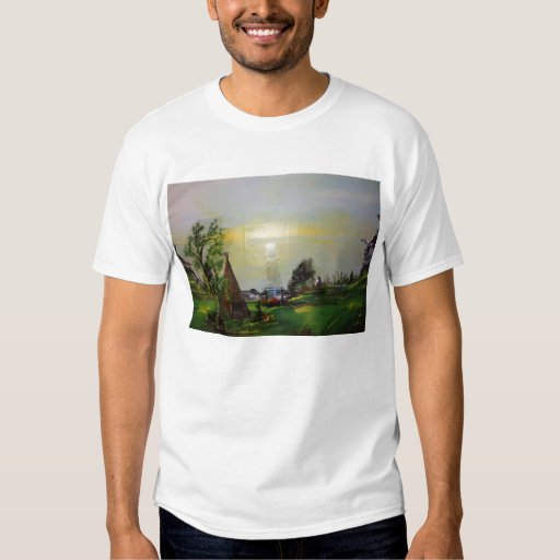 El camisetas de los hombres del paseo de la isla camisas