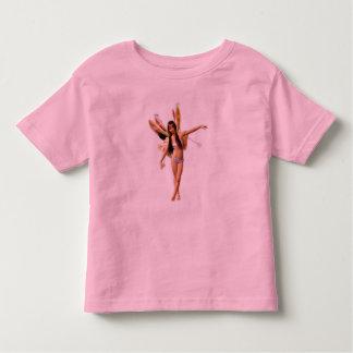 El camisetas de los niños de hadas de la aurora remeras