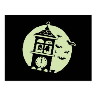 El campanario golpea la luna postales