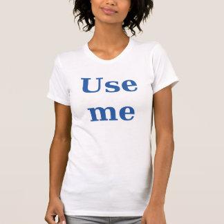 El campanero azul me utiliza camisetas