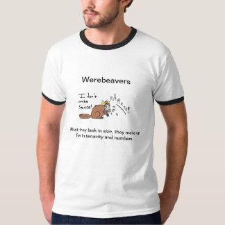 El campanero T de los hombres: El Werebeaver Camisas