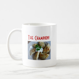 El campeón de Pierogi, versión 1 Tazas De Café