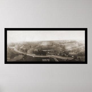 El campeón trabaja la foto 1907 del OH Posters