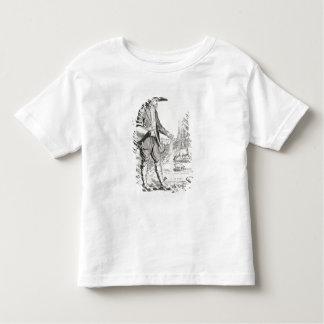 El campesino del pueblo, llevado para sufrir, t shirt