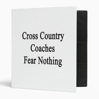 El campo a través entrena miedo nada