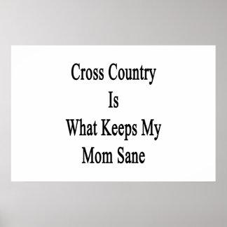 El campo a través es qué mantiene a mi mamá sana impresiones