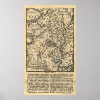 El campo de Antietam Poster