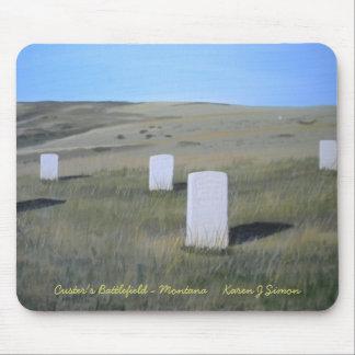 El campo de batalla de Custer - MES… Mouse Pad