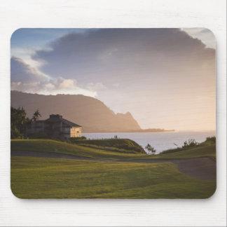 El campo de golf de Makai en Princeville 3 Alfombrilla De Raton