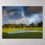 El campo de golf de Makai en Princeville 4 Posters