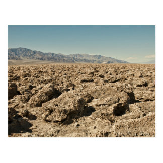 El campo de golf Death Valley del diablo Tarjetas Postales