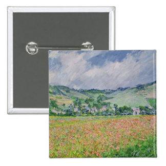El campo de la amapola cerca de Giverny, 1885 Pins