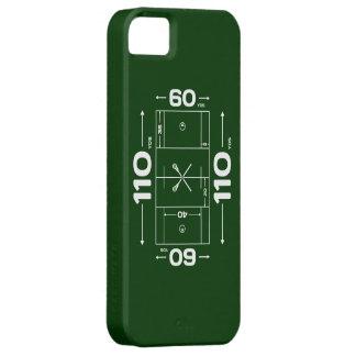 El campo de LaCrosse dimensiona el caso del iphone iPhone 5 Carcasa