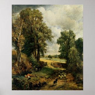 El campo de maíz, 1826 póster