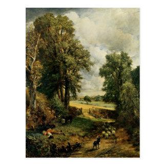 El campo de maíz, 1826 tarjeta postal