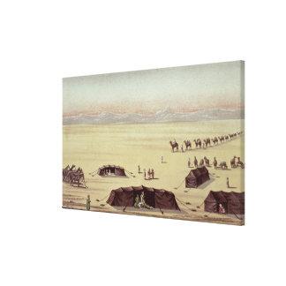 El campo del desierto de sir Richard Burton Impresiones En Lona