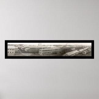 El campo Grant acuartela la foto 1917 Póster