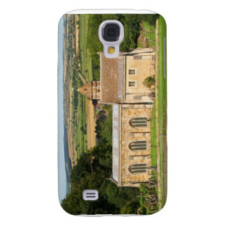 El campo inglés representa el castillo de Rockingh Funda Para Galaxy S4