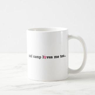 El campo le ama también…. taza básica blanca
