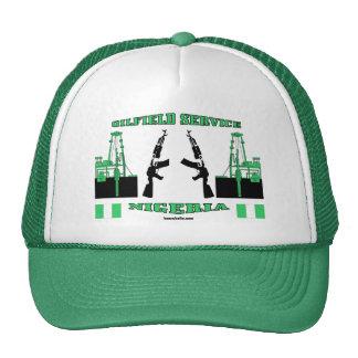 El campo petrolífero mantiene Nigeria, gorra del c