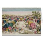 El campo prusiano del ejército, extraído a partir  tarjeta de felicitación