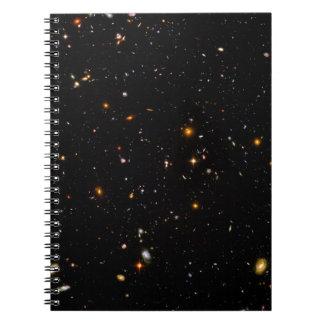 El campo Ultra-Profundo de Hubble Libro De Apuntes