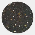El campo ultra profundo de Hubble Etiqueta Redonda