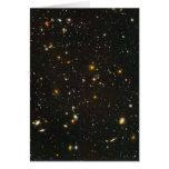 El campo ultra profundo de Hubble Felicitacion