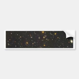 El campo ultra profundo de Hubble Pegatina Para Auto