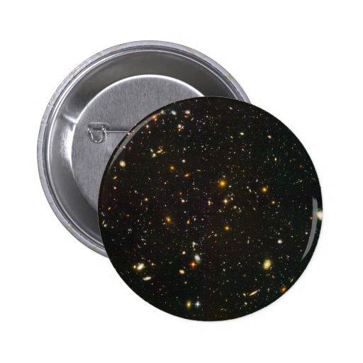 El campo ultra profundo de Hubble Pins