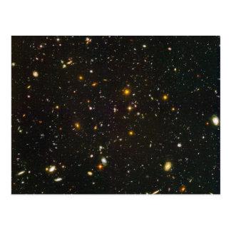 El campo ultra profundo de Hubble Postal