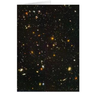 El campo ultra profundo de Hubble Tarjeta De Felicitación