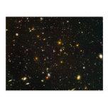 El campo ultra profundo de Hubble Tarjetas Postales