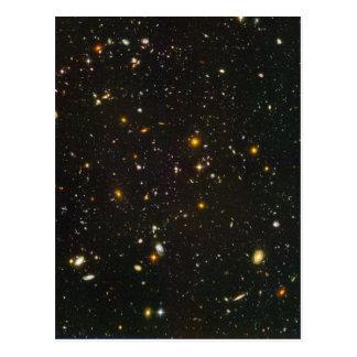El campo ultra profundo de Hubble Postales