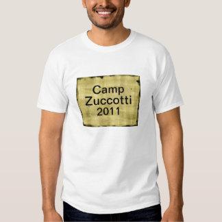 El campo Zuccotti 2011 ocupa Wall Street Polera