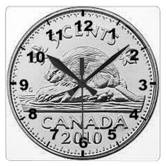 """El """"canadiense 5 centavos acuña"""" los relojes de"""