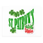 El canadiense irlandés de St Patrick Tarjetas Postales