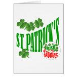 El canadiense irlandés de St Patrick Tarjetas