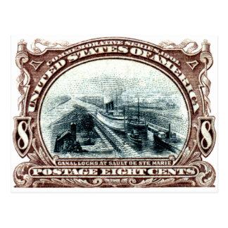El canal 1901 cierra Michigan Postales