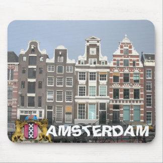 El canal de Amsterdam contiene Mousepad