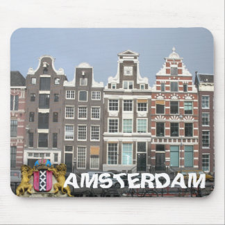 El canal de Amsterdam contiene Mousepad Tapete De Ratones