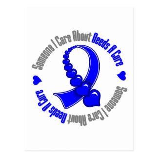 El cáncer anal alguien cuidado de I necesita Postal