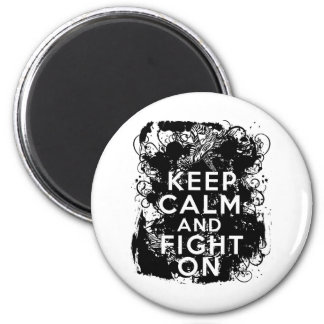 El cáncer carcinoide guarda calma y sigue luchando imán redondo 5 cm